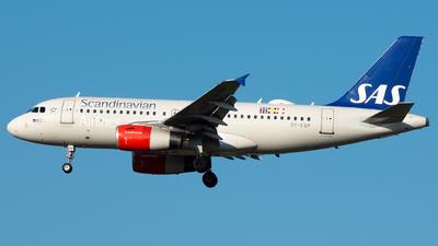 OY-KBP - Airbus A319-132 - Scandinavian Airlines (SAS)