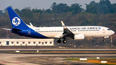 A picture of B1557 - Boeing 73785C - Jiangxi Air - © Messerschmitt.X