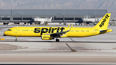A picture of N665NK - Airbus A321231 - Spirit Airlines - © Yixin Chen