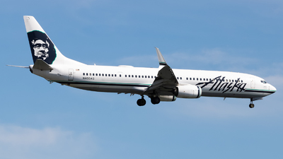 A picture of N403AS - Boeing 737990(ER) - Alaska Airlines - © Yishai Howe