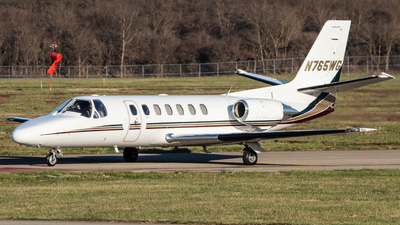 N765WG - Cessna 560 Citation Ultra - Private