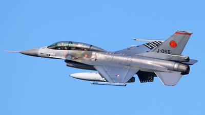 J-066 - General Dynamics F-16BM Fighting Falcon - Netherlands - Royal Air Force