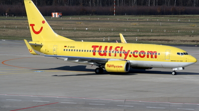 D-AHXI - Boeing 737-7K5 - TUIfly