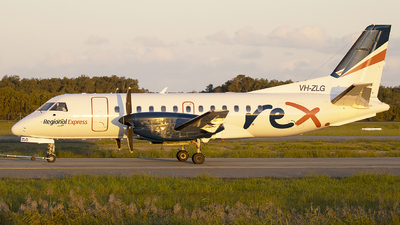 VH-ZLG - Saab 340B - Regional Express (REX)