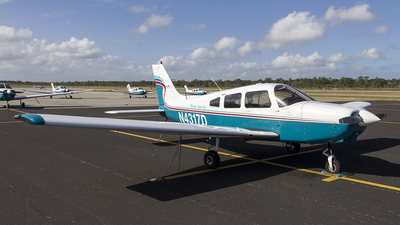 A picture of N4317D - Piper PA28161 - [288416002] - © xuxinyi1000