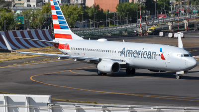 A picture of N844NN - Boeing 737823 - American Airlines - © Francisco Enrique Islas