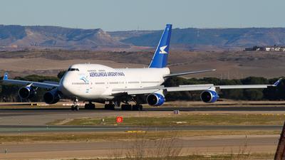 LV-AXF - Boeing 747-475 - Aerolíneas Argentinas