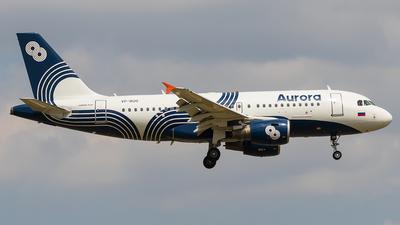A picture of VPBUO - Airbus A319111 - Aurora - © walker2000