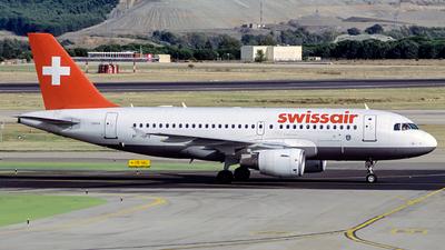 HB-IPY - Airbus A319-112 - Swissair
