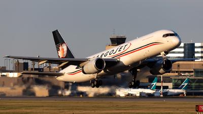 A picture of CFLAJ - Boeing 75723A(PCF) - Cargojet Airways - © Alex Praglowski