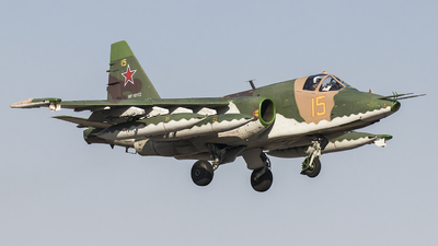 RF-10172 - Sukhoi Su-25SM Frogfoot - Russia - Air Force