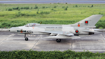 1422 - Chengdu F-7MB - Bangladesh - Air Force