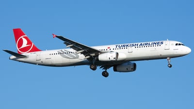 TC-JRD - Airbus A321-231 - Turkish Airlines