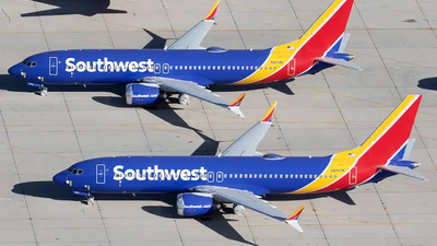 N8717M - Boeing 737-8 MAX - Southwest Airlines