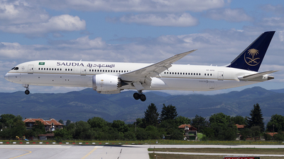 A picture of HZAR12 - Boeing 7879 Dreamliner - Saudia - © StefanP