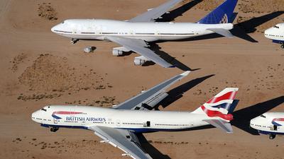 G-BNLU - Boeing 747-436 - British Airways