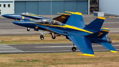 162419 - McDonnell Douglas F/A-18B Hornet - United States - US Navy (USN)