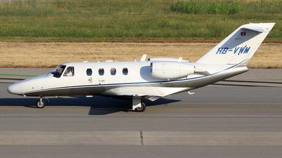HB-VWM - Cessna 525 CitationJet 1 Plus - Private