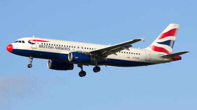G-EUUK - Airbus A320-232 - British Airways