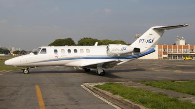 PT-ASX - Cessna 525A CitationJet 2 - Táxi Aéreo Piracicaba