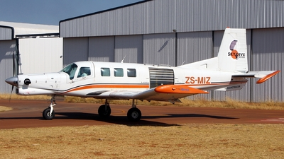 ZS-MIZ - Pacific Aerospace 750XL - Skydive Pretoria