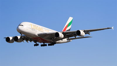 A6-EEN - Airbus A380-861 - Emirates