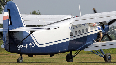 SP-FYO - PZL-Mielec An-2 - White Eagle Aviation