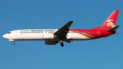 A picture of B5105 - Boeing 73797L - Shenzhen Airlines - © Meng
