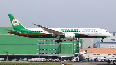 B-17883 - Boeing 787-9 Dreamliner - Eva Air