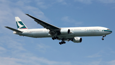 B-HNM - Boeing 777-367 - Cathay Pacific Airways