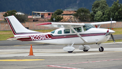 N206EL - Cessna U206G Stationair Soloy - Private