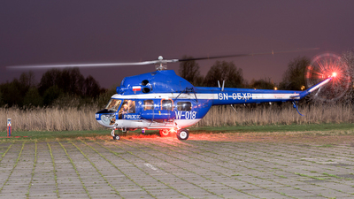 SN-05XP - PZL-Swidnik Mi-2 Hoplite - Poland - Police