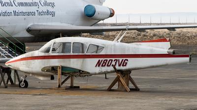 N803VG - Piper PA-23 Apache - Alpha Aviation