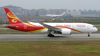 A picture of B2728 - Boeing 7878 Dreamliner - Hainan Airlines - © BCG554