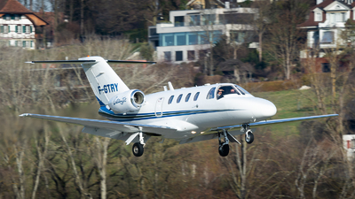 F-GTRY - Cessna 525 Citationjet CJ1 - Private