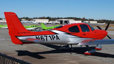 A picture of N671PA - Cirrus SR22T - [2097] - © ajwebb