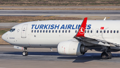 TC-JHN - Boeing 737-8F2 - Turkish Airlines