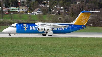SE-DSU - British Aerospace Avro RJ100 - Braathens Regional