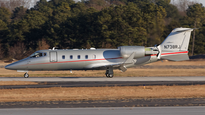A picture of N738RJ - Learjet 60 - [60409] - © PeachAir