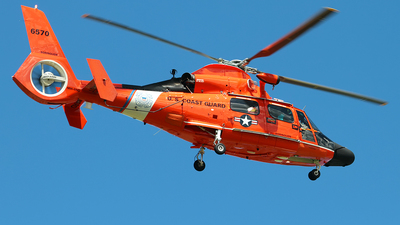 6570 - Aérospatiale MH-65D Dolphin - United States - US Coast Guard (USCG)