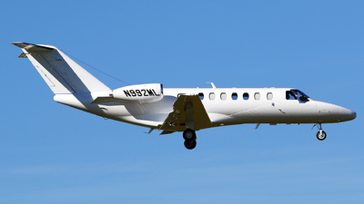 N992ML - Cessna 525B CitationJet 3 - Private