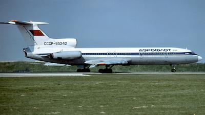 CCCP-85242 - Tupolev Tu-154B - Aeroflot
