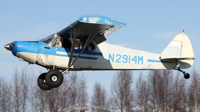 A picture of N2914M - Piper PA12 Super Cruiser - [121334] - © Kevin Porter