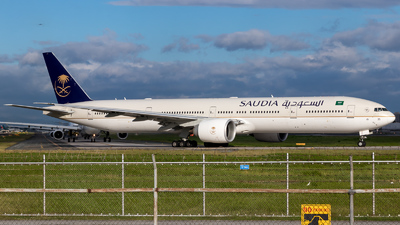 HZ-AK35 - Boeing 777-3FGER - Saudi Arabian Airlines