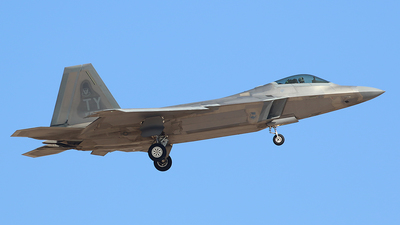 04-4072 - Lockheed Martin F-22A Raptor - United States - US Air Force (USAF)