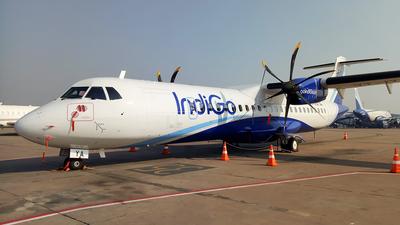 VT-IYA - ATR 72-212A(600) - IndiGo Airlines