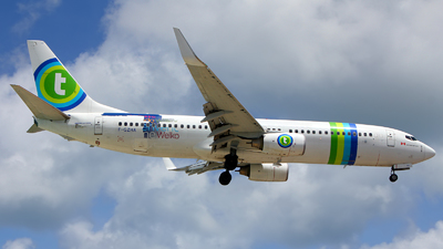 F-GZHA - Boeing 737-8GJ - Air Transat (Transavia France)
