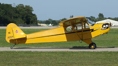 N42924 - Piper J-3C-65 Cub - Private
