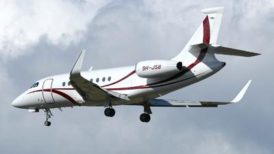 9H-JSB - Dassault Falcon 2000LXS - TAG Aviation
