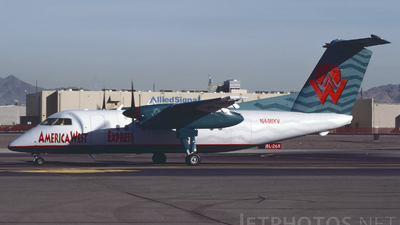 N446YV - Bombardier Dash 8-Q202 - America West Express (Mesa Airlines)